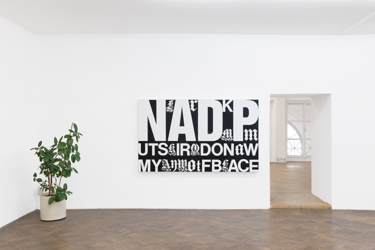 Ausstellungsansicht, FRANZ GRAF - WE DON'T TALK TO STRANGERS, Büro Weltausstellung, 2018