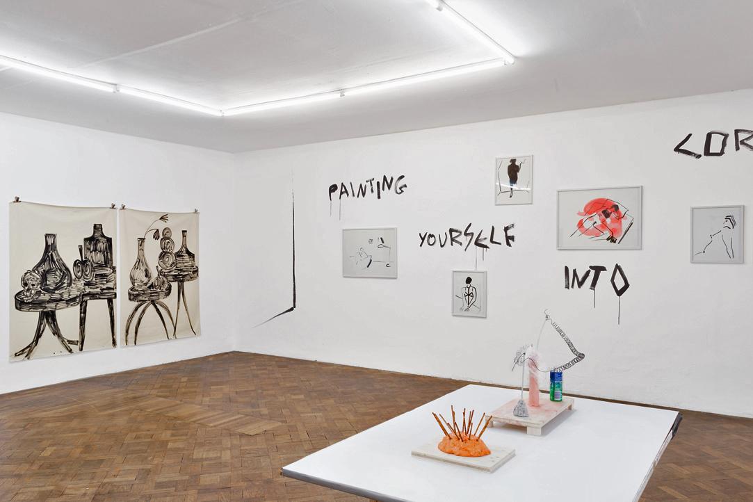 Ausstellungsansicht, SPEED, Rade Petrasevic / Panos Papdopoulos / Martin Grandits, Büro Weltausstellung, 2018