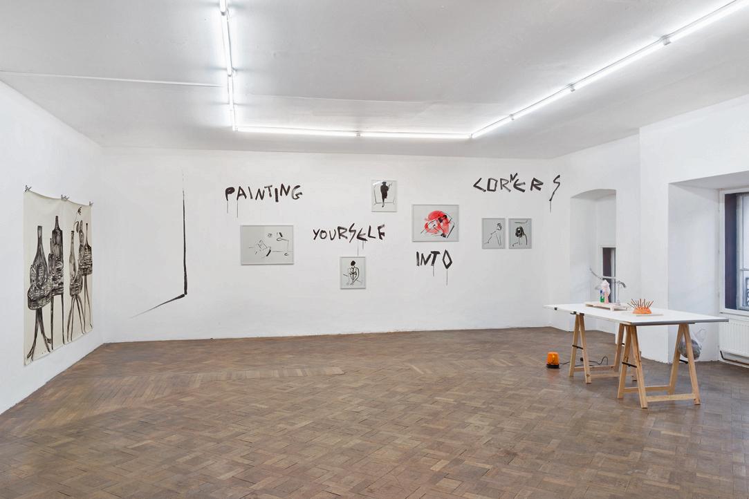 Ausstellungsansicht, SPEED, Büro Weltausstellung, 2018
