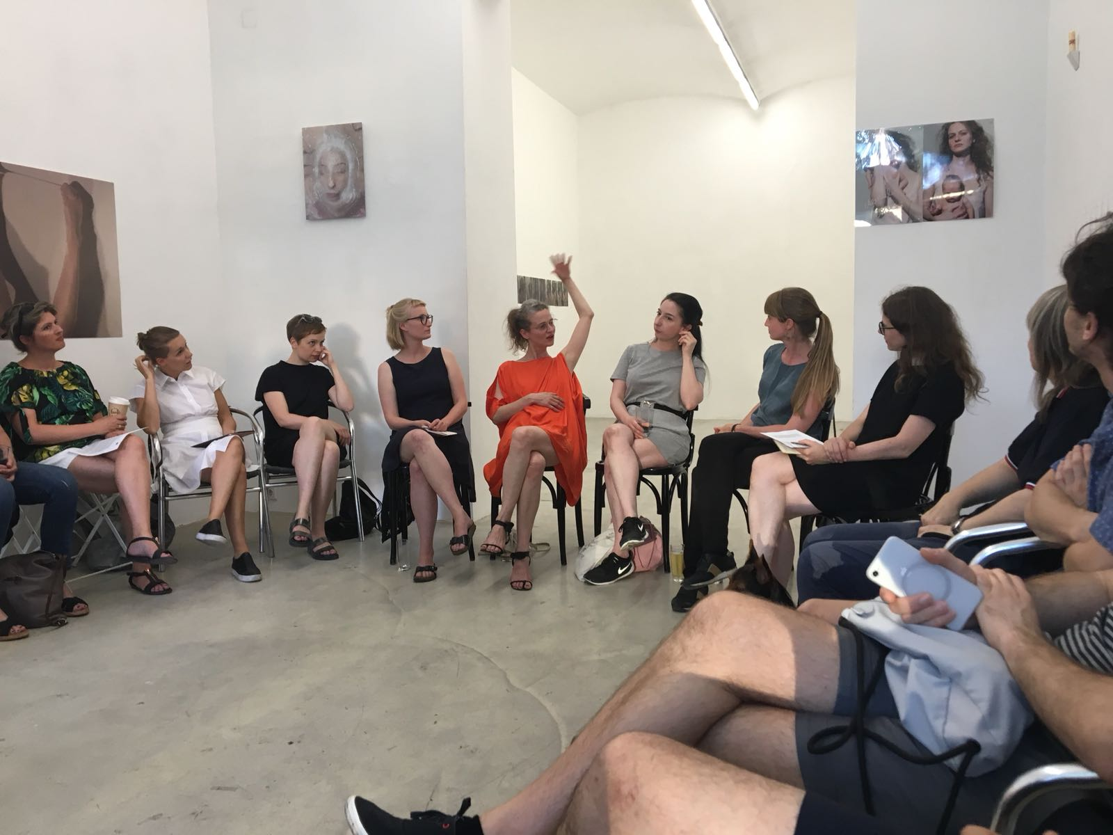 Artist-Talk, Intersection #1, 20.6.2018, Galerie Kunstbüro