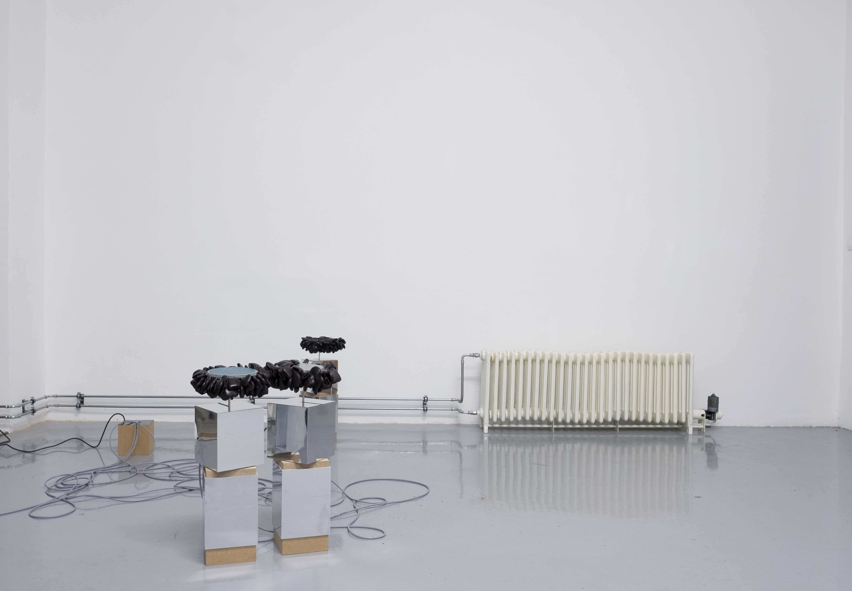 "Ausstellungsansicht ""IF IT MOVES, IT'S OUTMODED""?, Elisa Storelli, Bastien Gachet"