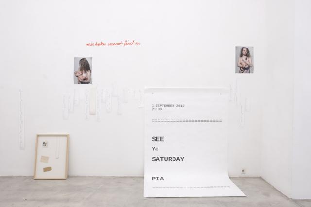 Ausstellungsansicht, Intersections #1, Bernadette Anzengruber, Galerie Kunstbüro, 2018, Foto: Corinne Rusch