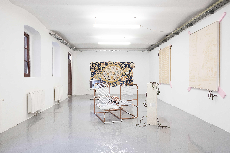 """Installationsansicht, """"CHICAGO VOLUME 2"""", Kunstraum am Schauplatz, 2018, Foto: Corinne Rusch"""