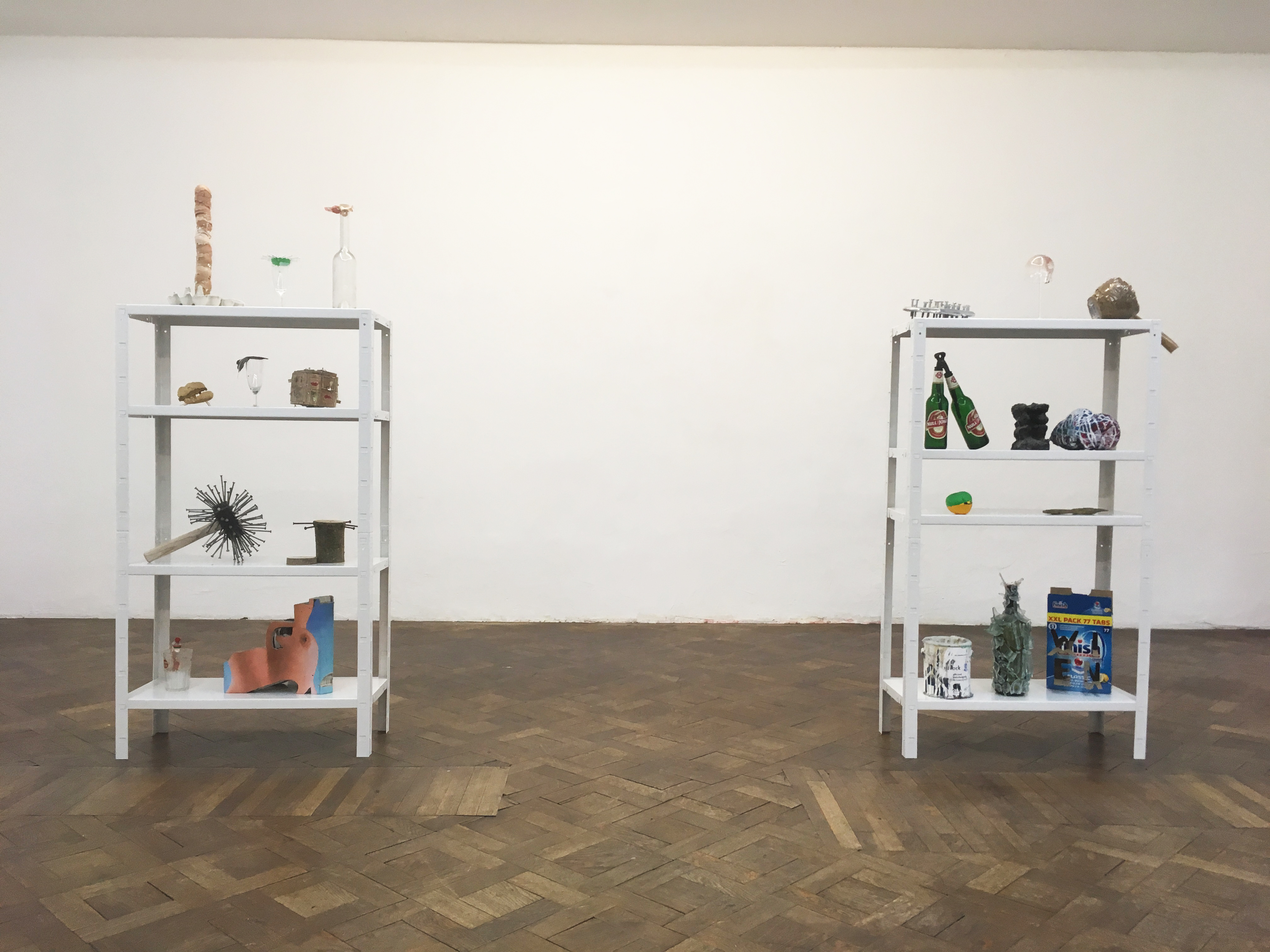 Installationsansicht, Christian Eisenberger, Skulpturenpark, Büro Weltausstellung, 2018