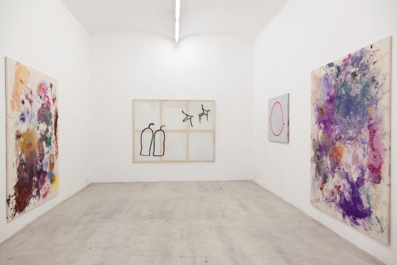 Installationsansicht, NINO STELZL, Galerie kunstbuero 2018