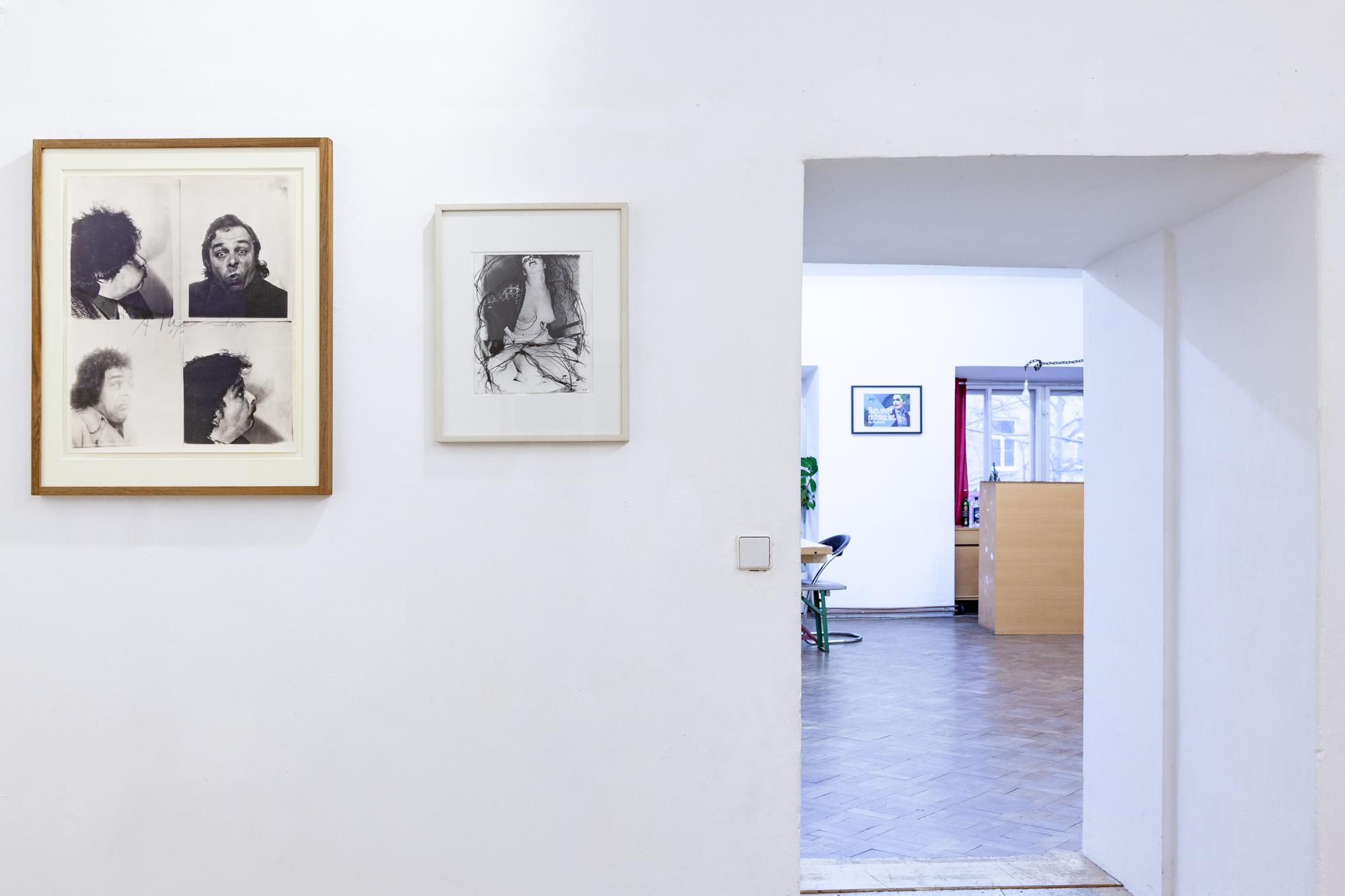 Installationsansicht: Arnulf Rainer
