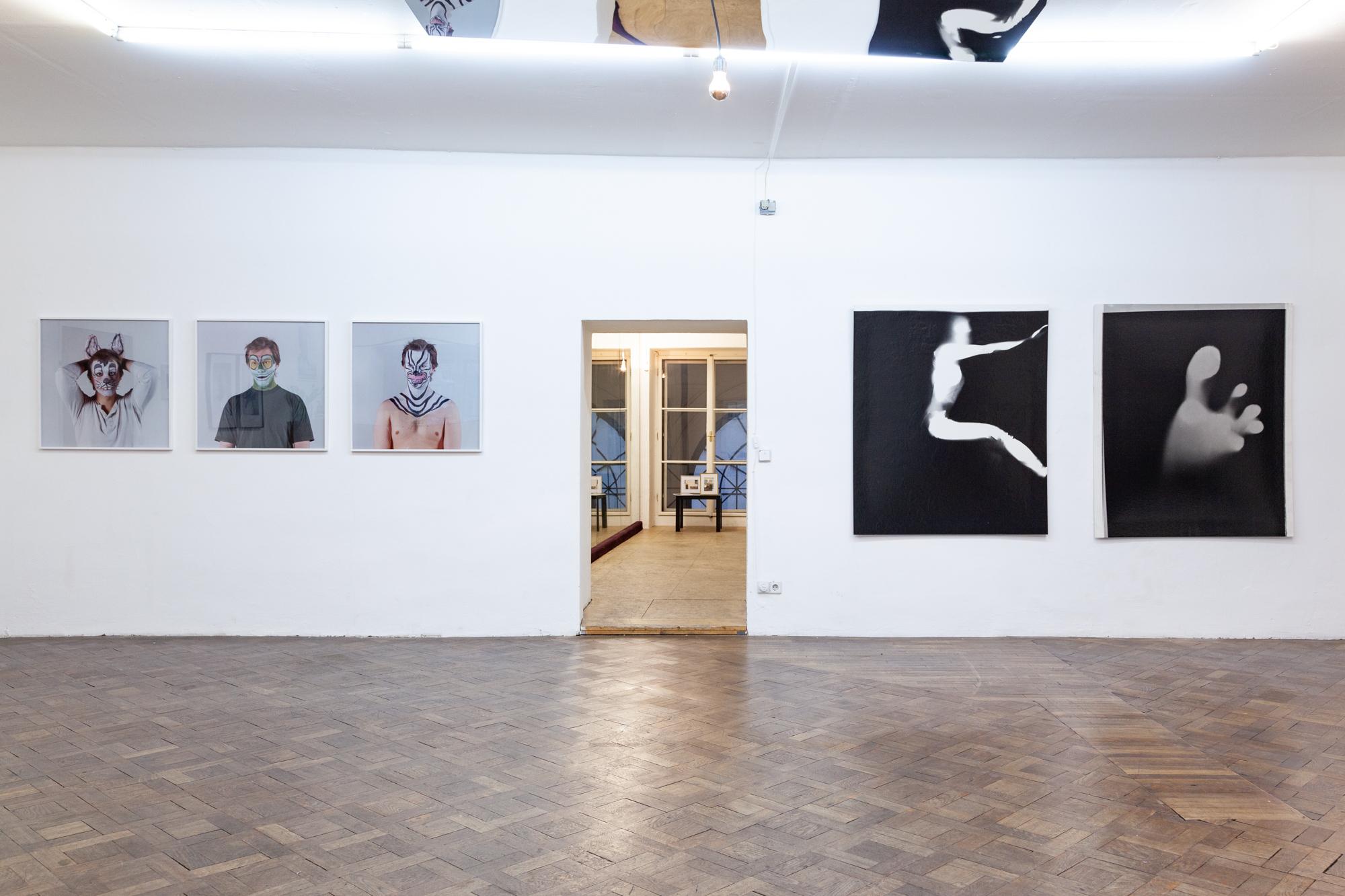 Installationsansicht: Johann Neumeister und Michaela Moscouw