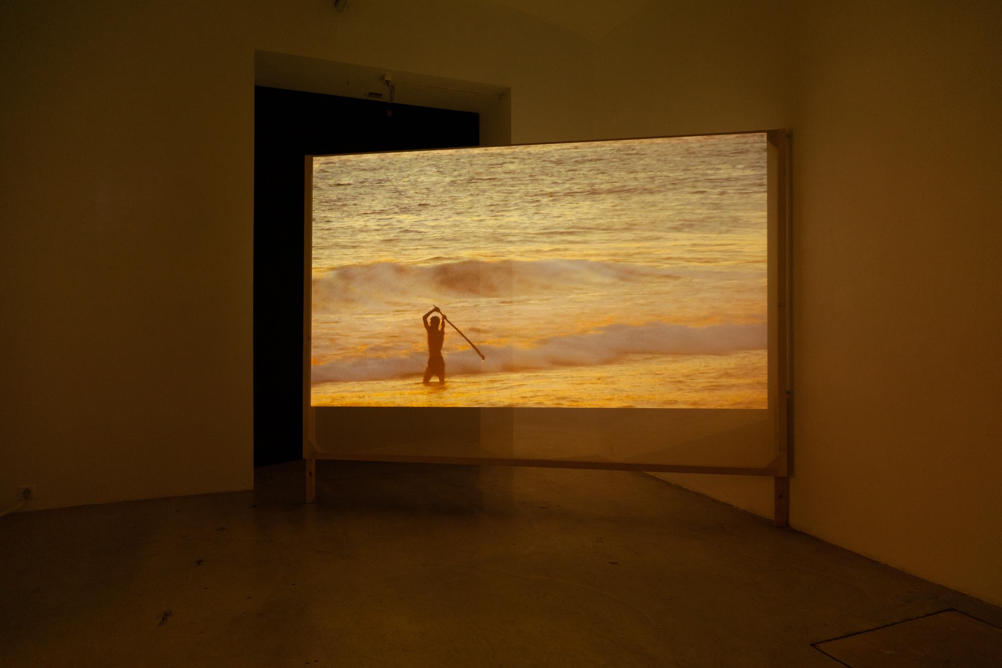 Installationsansicht JERJES, Julien Devaux, Foto: Björn Segschneider