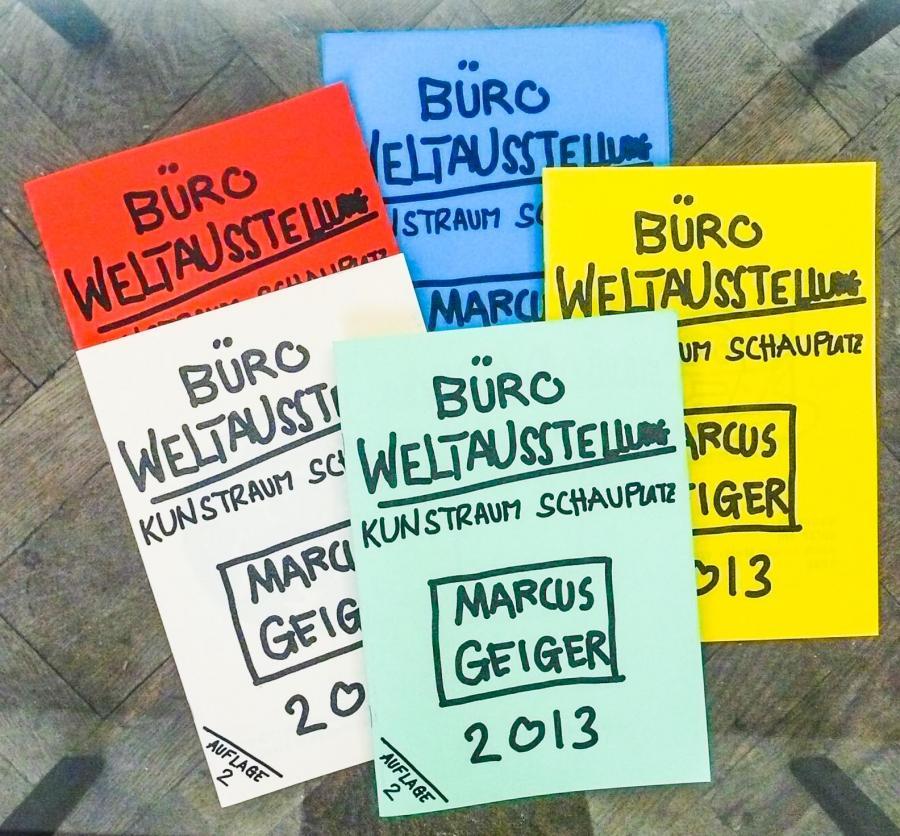 Marcus Geiger, Katalogcover Archivzeichnungen zur Ausstellung Vergiss Venedig, 2013