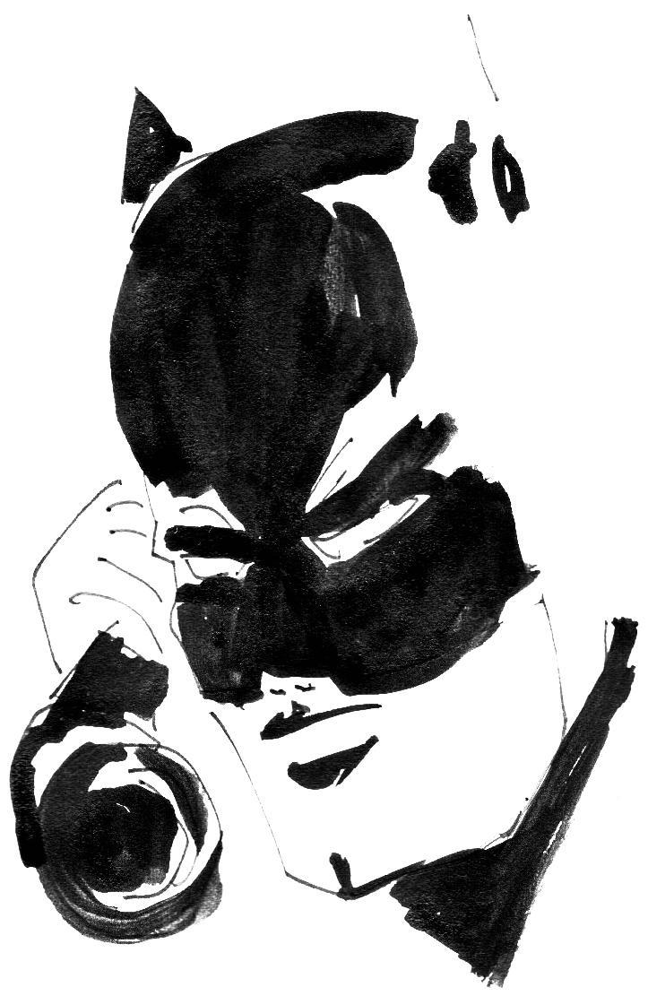 """Kerstin von Gabain, detail """"Batman"""", 29,7 x 21 cm, ink on paper, 2015 Courtesy Gabriele Senn Galerie, Wiener Art Foundation"""