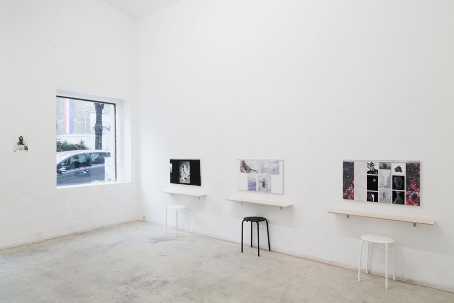 Installationview, MEGAN FRANCIS SULLIVAN, noumoules @Kunstbuero/Schaulager, 2017