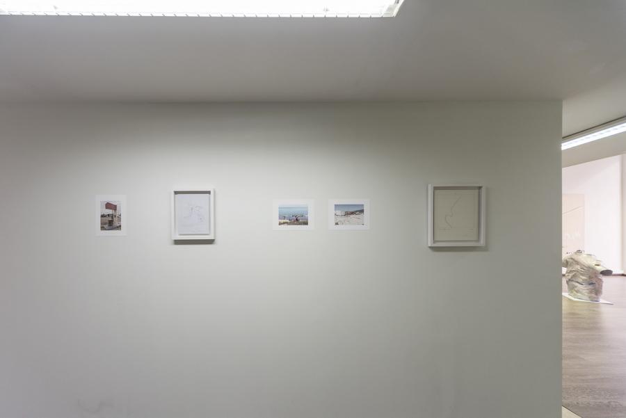 """""""moi non-moi"""" or """"carrying owls to athens"""", Ausstellungsansicht: Irini Athanassakis (Foto: Simon Veres)"""
