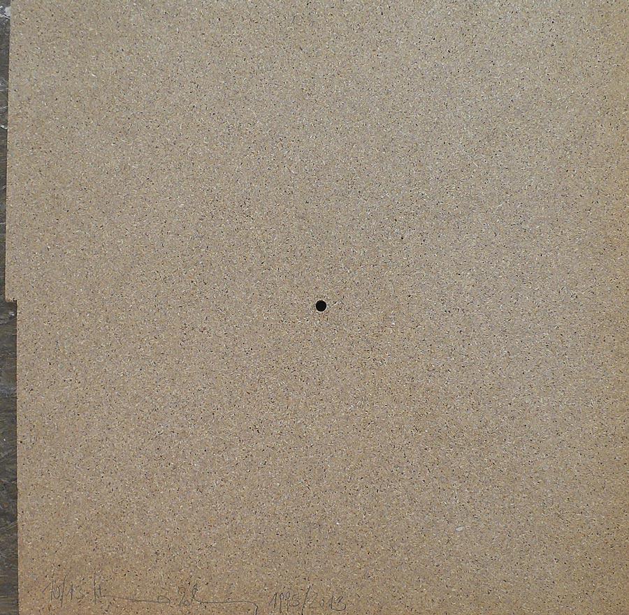 Heimo Zobernig, Ohne Titel, 10/13, 2013, Dispersion/Pressspan, 50 x 50 x 2 cm