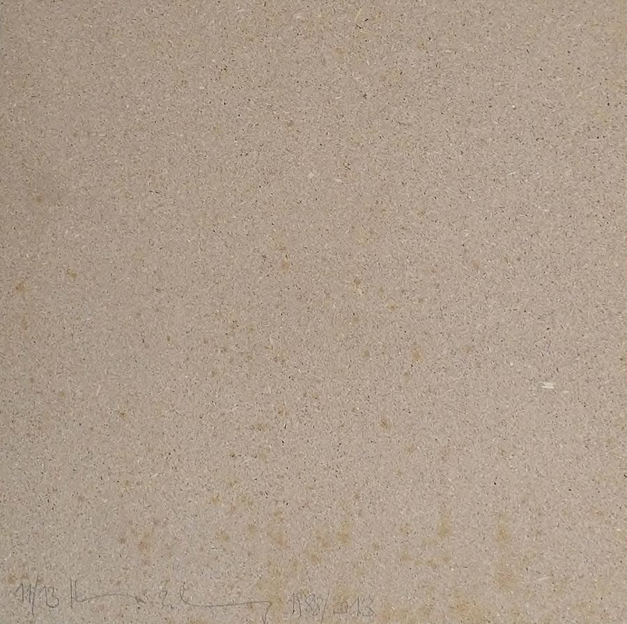Heimo Zobernig, Ohne Titel, 11/13, 2013, Dispersion/Pressspan, 50 x 50 x 2 cm