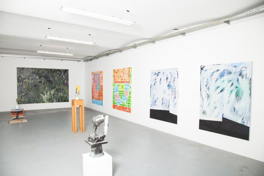 The Katharsis-Show, Installationsansicht Kunstraum am Schauplatz, 2015/16.