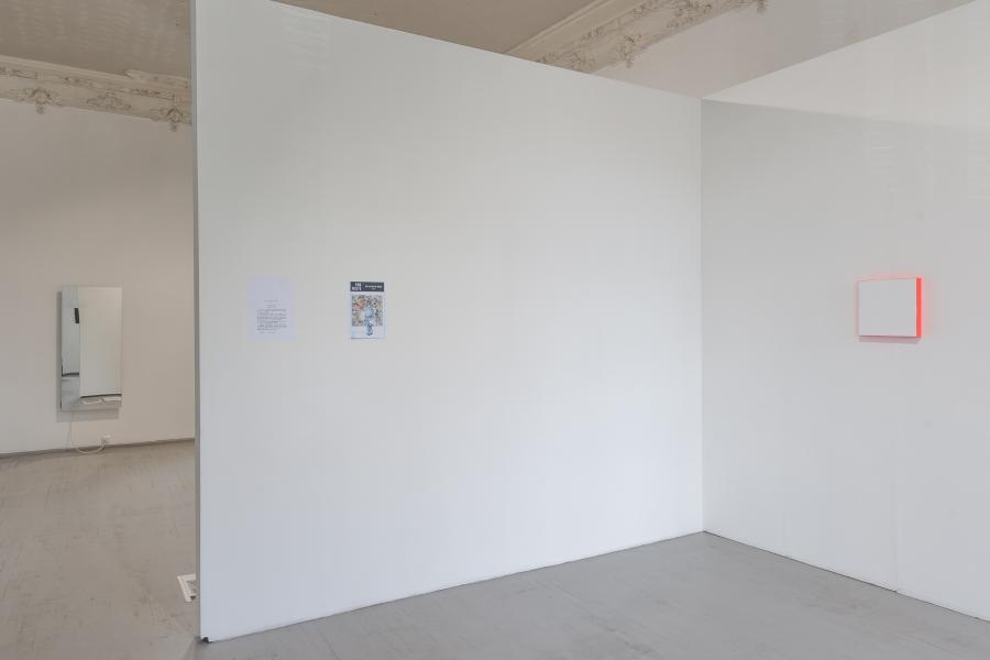 Exhibition view HEIMO ZOBERNIG & JULIA HALLER