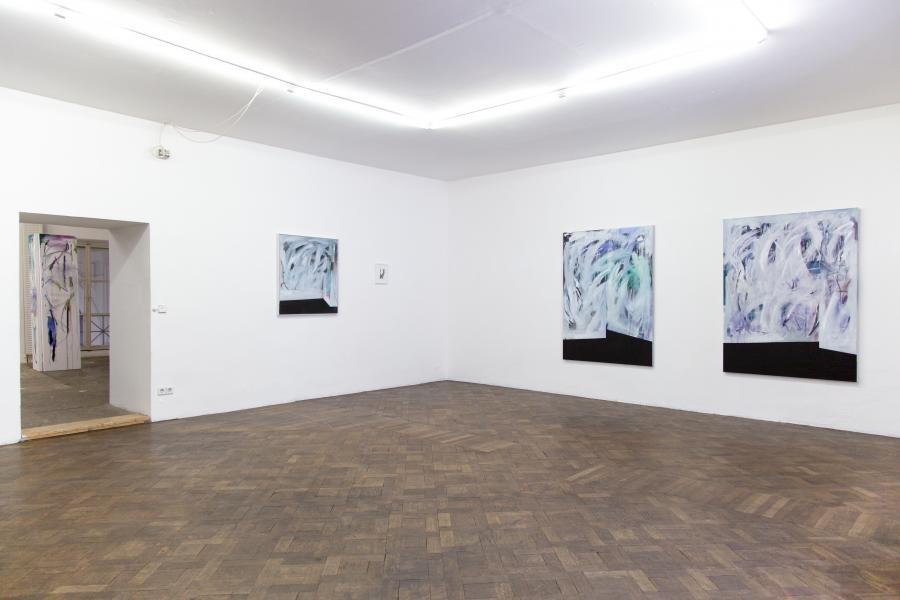 Nino Sakandelidze, Installationsansicht Büro Weltausstellung 2015
