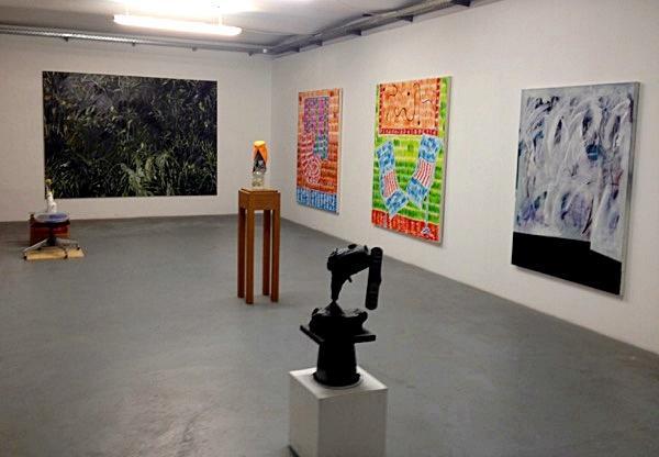 Installationsansicht The Katharsis-Show, Kunstraum am Schauplatz, 2015.