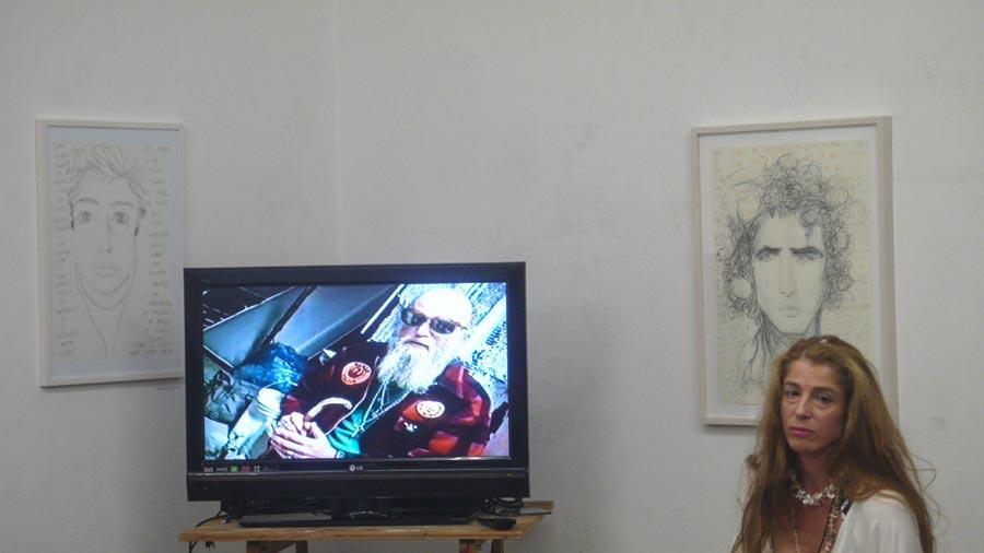 Herbert Lachmayer, Elke Silvia Krystufek, Büro Weltausstellung, Juni 2014