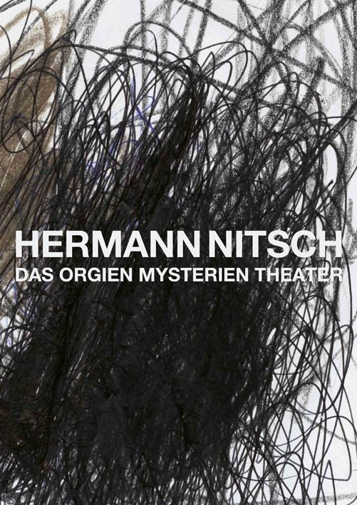Cover Künstlerbuch Hermann Nitsch