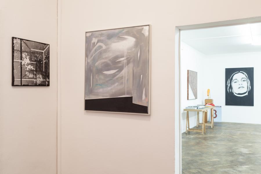 Ausstellungsansicht REVUE, Büro Weltausstellung 2016, Foto: Björn Segschneider