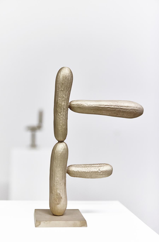 Erwin Wurm | Gurken Modernistisch IV | 2016 | Bronze patiniert | 27,5 x 17 x 8,5 cm | Version 1/5   2 AP