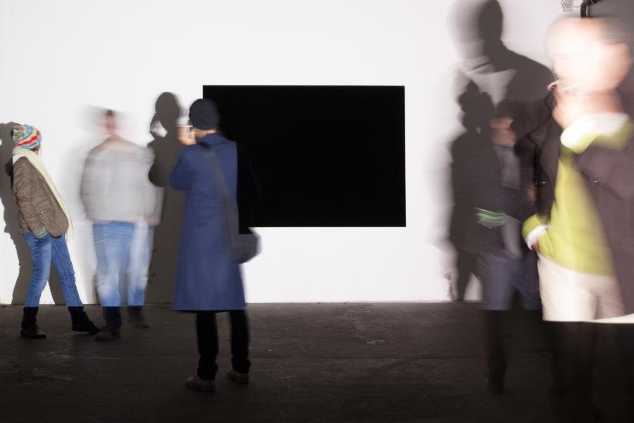 Installationsansicht DIAMANTEN Silvo Saric, Kunstraum am Schauplatz, 2017, Foto Björn Segschneider
