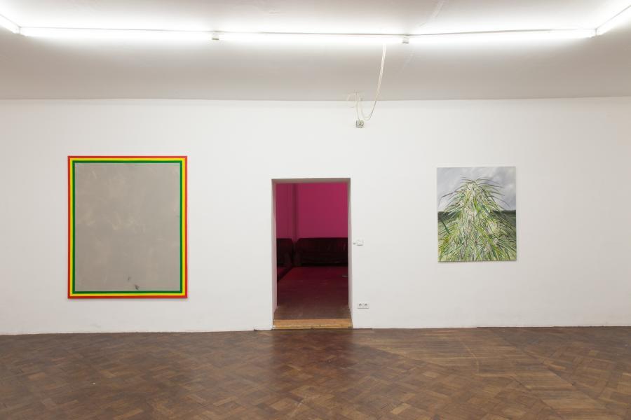 Alex Ruthner, Iz Us, Installationsansicht Büro Weltausstellung, 2015