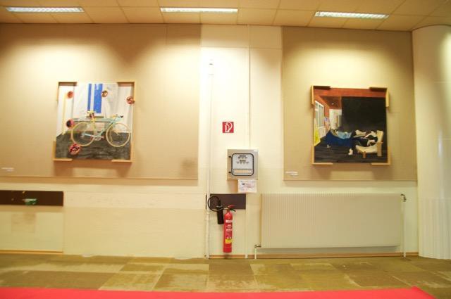 Installationsansicht, Ausstellung BOYS DON'T CRY, ALEX RUTHNER, Foto Janina Lenz