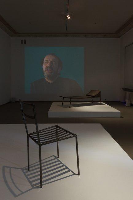 FRANZ WEST, Installation view at galerija VARTAI, Photographer Arnas Anskaitis