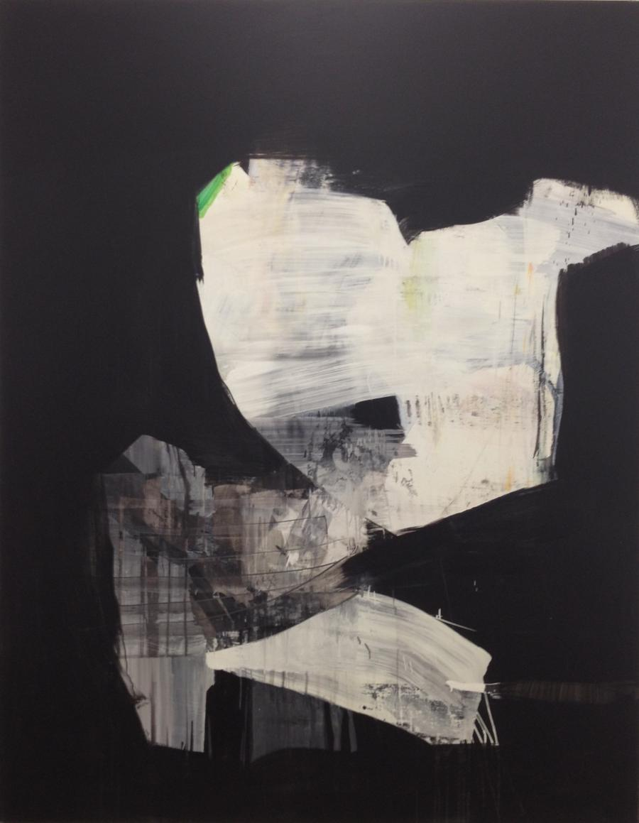 Franco Kappl, OT, Acryl auf Leinwand, 230 x 180 cm, 2015