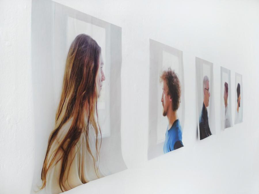 for a while, who knows how long - portraits by marina faust