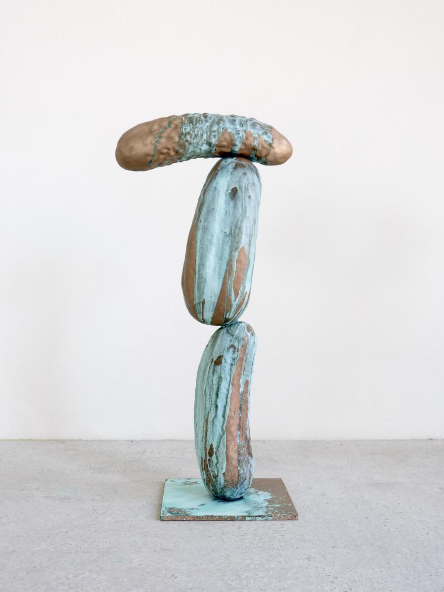 Erwin Wurm Grüner Veltliner, 2016 Bronze, patiniert | Foto: Studio Erwin Wurm