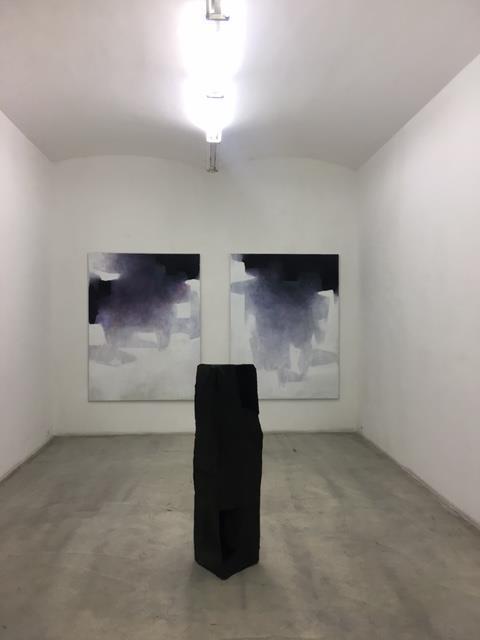 Walter Vopava, Ausstellungsansicht, Galerie kunstbuero, 2017