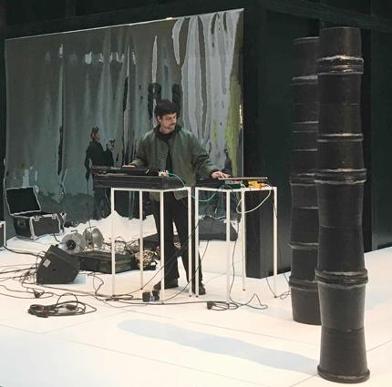 Philipp Quehenberger, Soundperformance 19.4.2017, 21er Haus, Wien