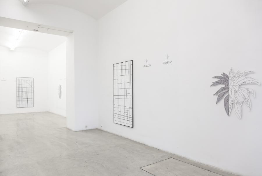 Marina Sula & Richard Nikl, installation view, Galerie Kunstbuero, Vienna