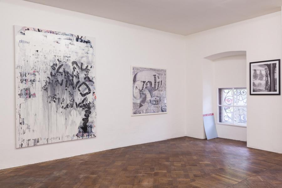 Ausstellungsansicht, Büro Weltausstellung, 2016, Foto: Björn Segschneider