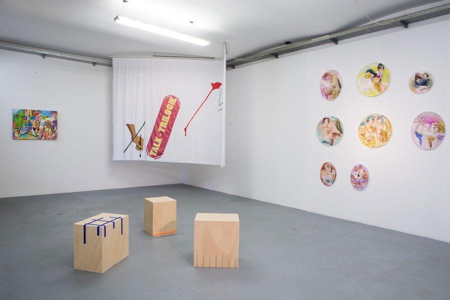 Installationsansicht Kunstraum am Schauplatz, Foto © Lukas Dostal