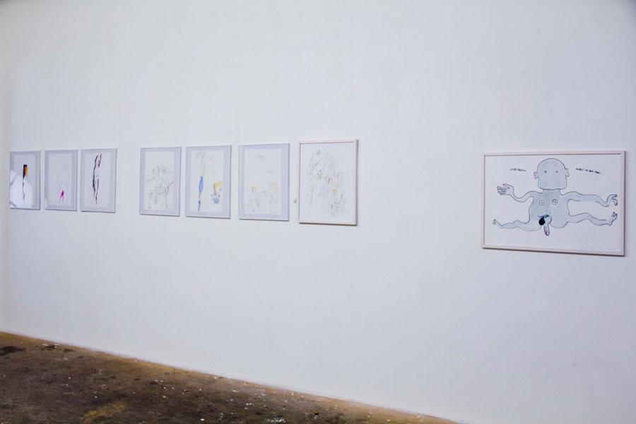 Installationsansicht Büro Weltausstellung